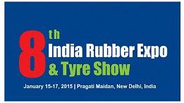 Выставка India Rubber Expo & Tyre Show 2015 в Нью-Дели
